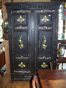 my grandmother's armoire looked a little like this
