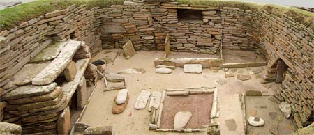 Neolithic village in Scottland