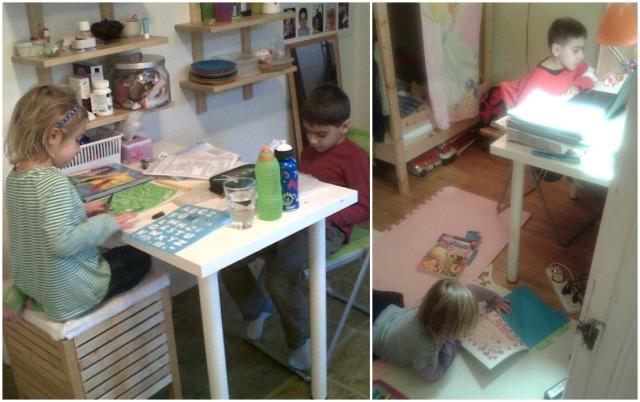 Homework kids