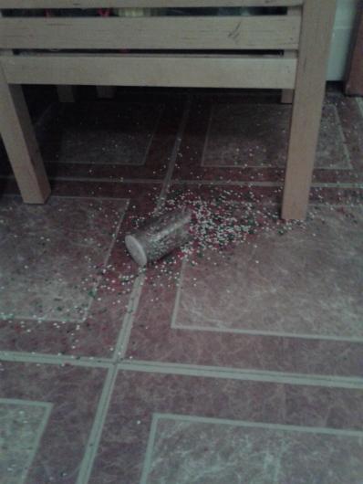 broken sprinkles jar